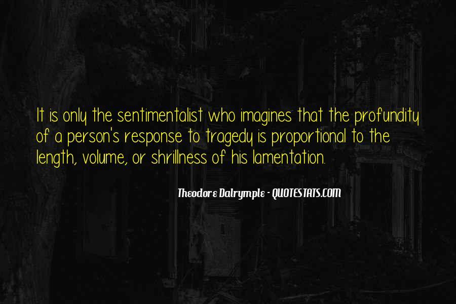 Theodore Dalrymple Quotes #544639