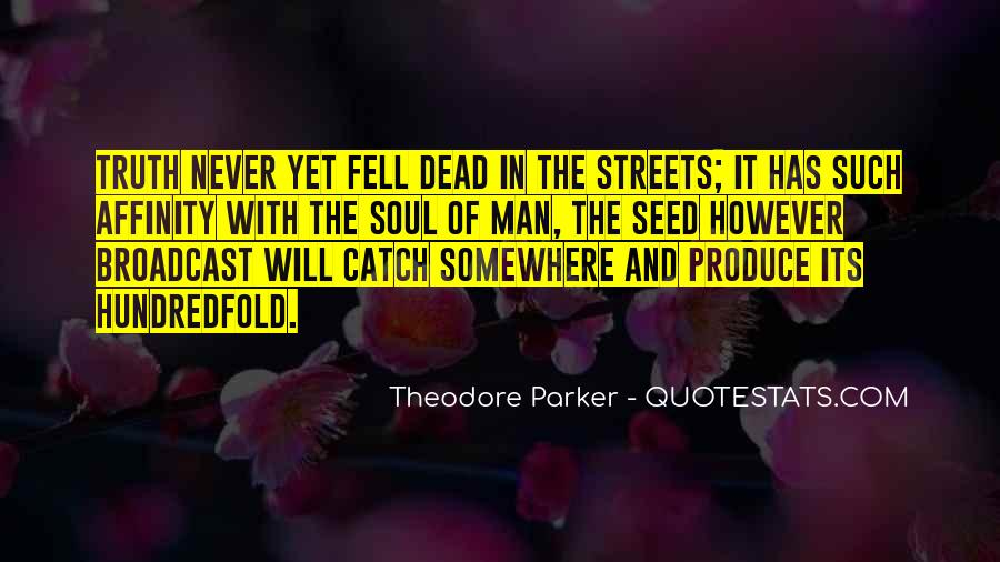 Theodore Parker Quotes #1189381