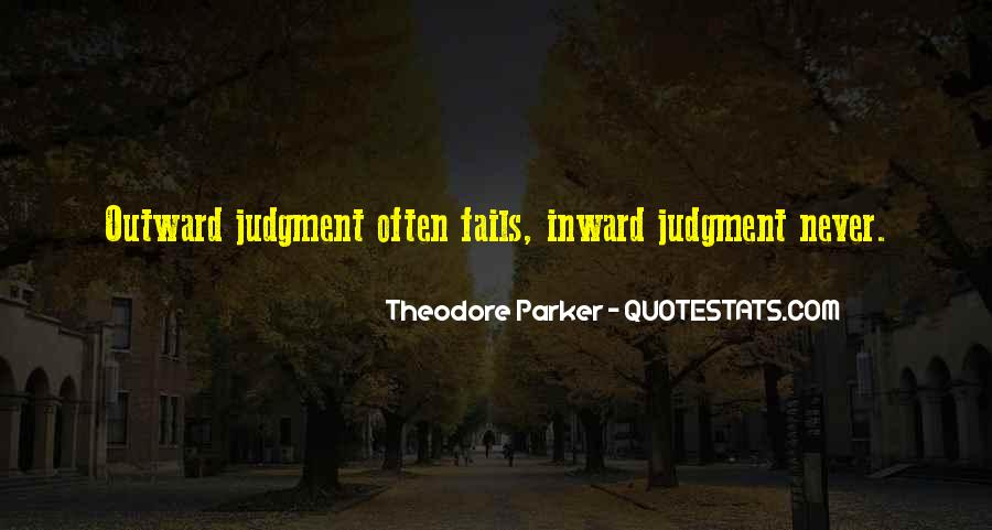 Theodore Parker Quotes #1402285