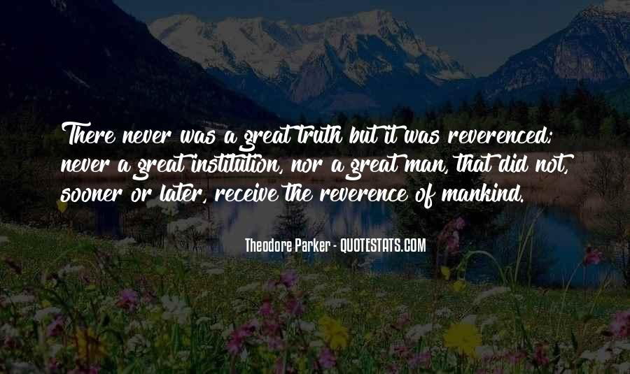 Theodore Parker Quotes #1559624
