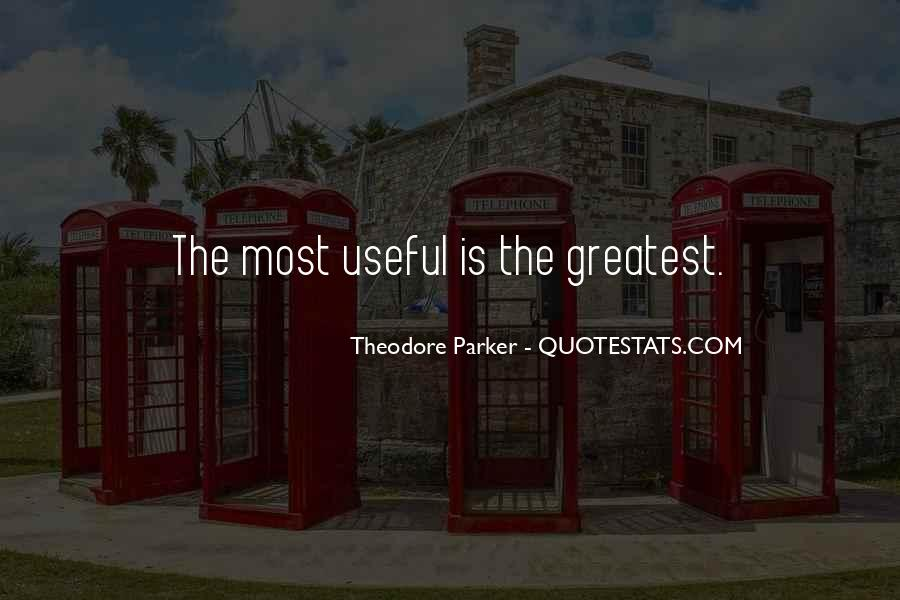Theodore Parker Quotes #159484