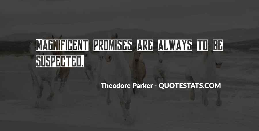 Theodore Parker Quotes #1678134