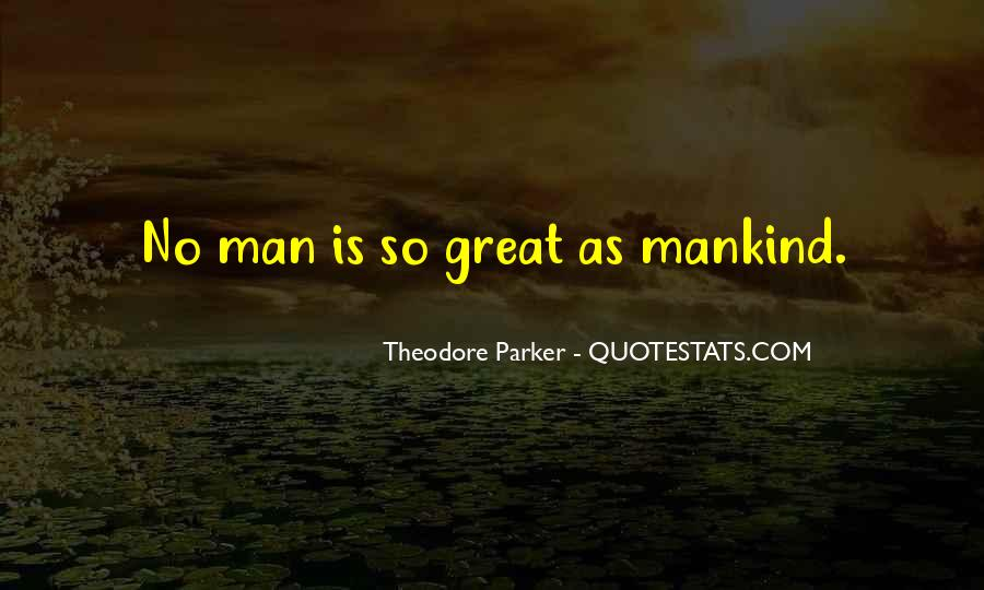Theodore Parker Quotes #1755195