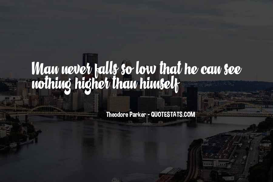 Theodore Parker Quotes #1807904