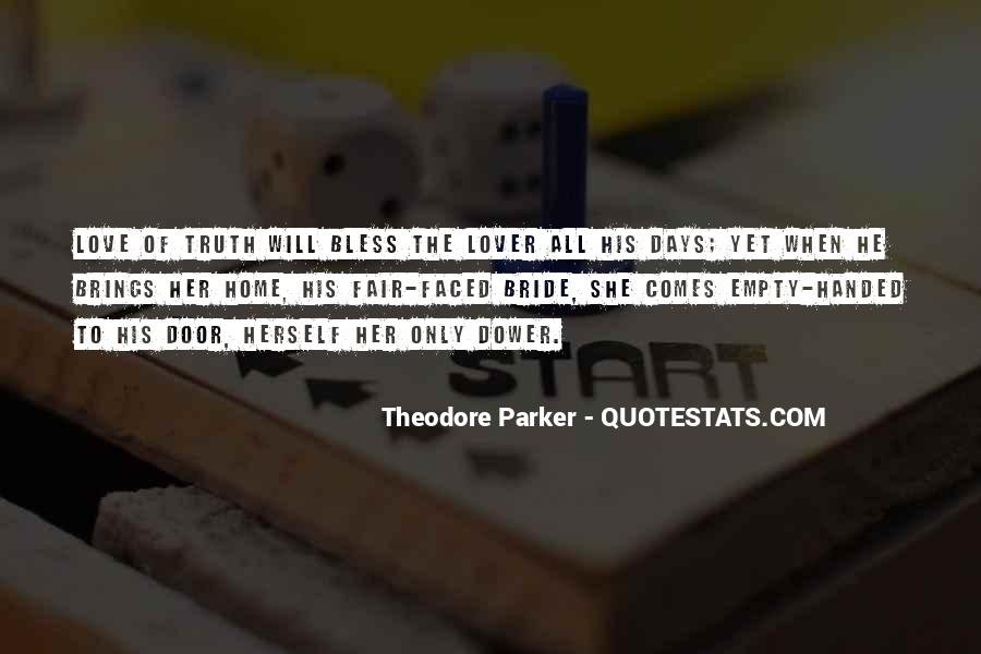 Theodore Parker Quotes #296576