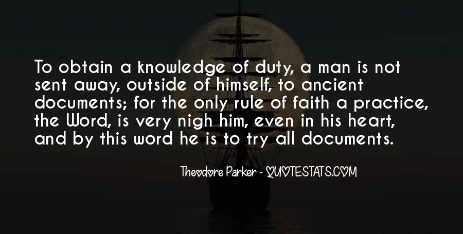 Theodore Parker Quotes #317874