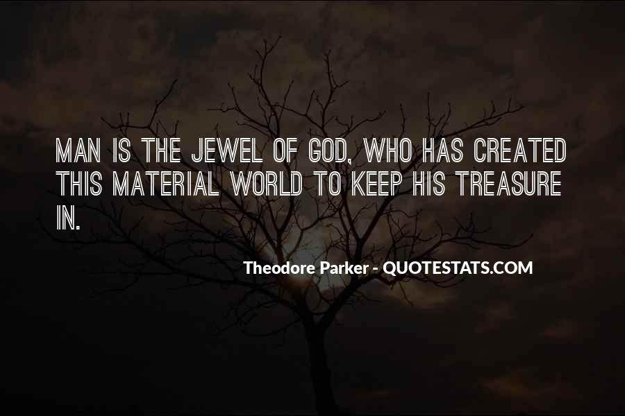 Theodore Parker Quotes #485614