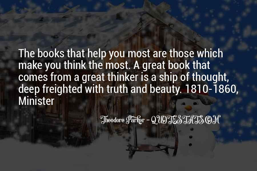Theodore Parker Quotes #683258