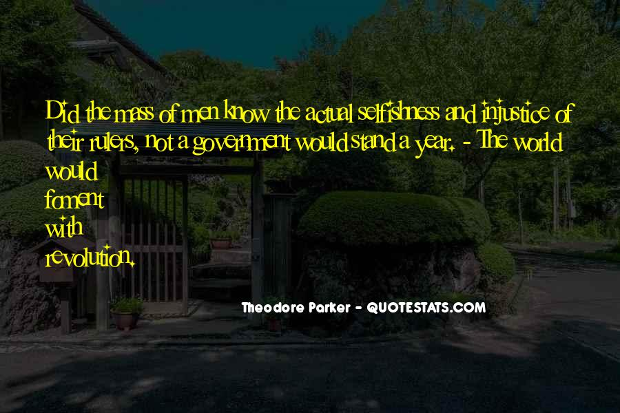 Theodore Parker Quotes #872759