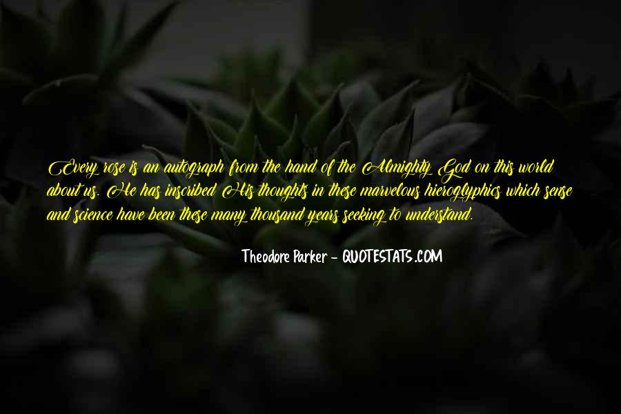 Theodore Parker Quotes #884955