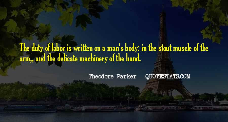 Theodore Parker Quotes #892937