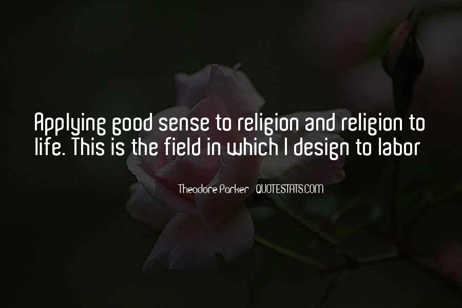 Theodore Parker Quotes #963944