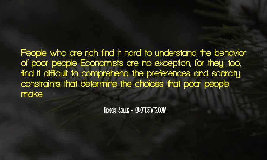 Theodore Schultz Quotes #582948