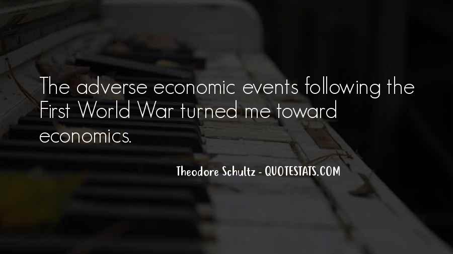 Theodore Schultz Quotes #710901