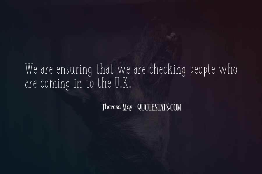 Theresa May Quotes #172675