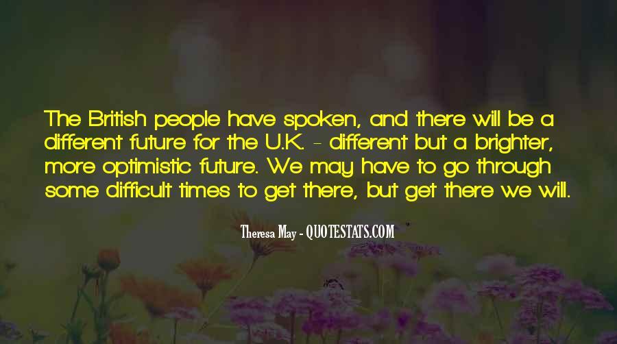 Theresa May Quotes #1958