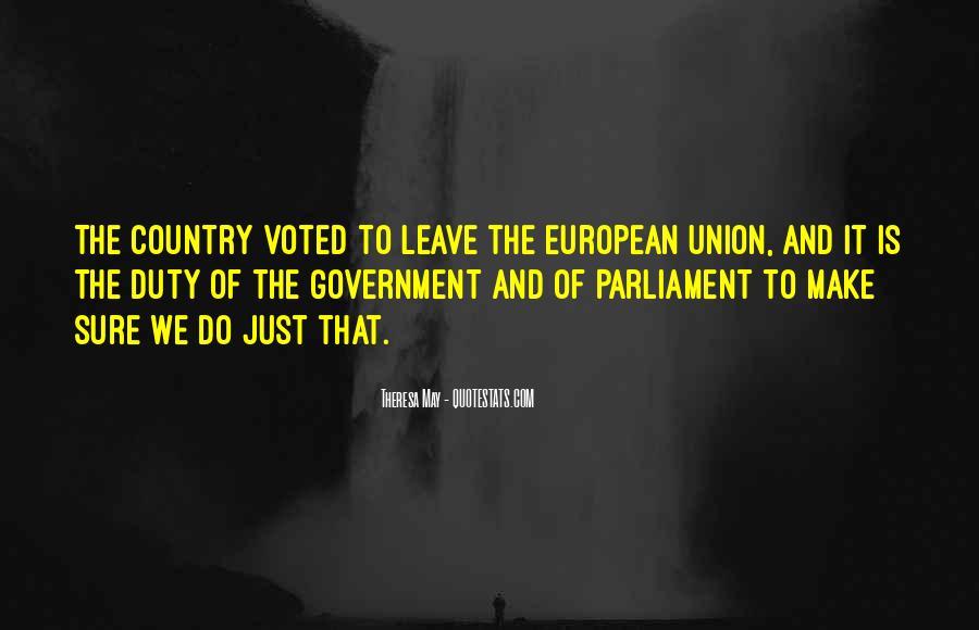 Theresa May Quotes #236336