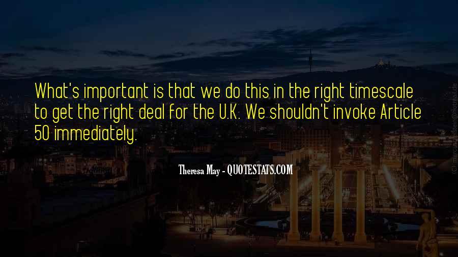 Theresa May Quotes #610064