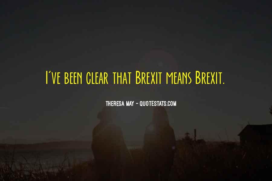 Theresa May Quotes #662628