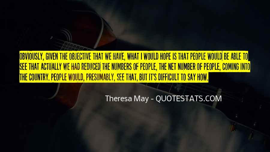 Theresa May Quotes #978730