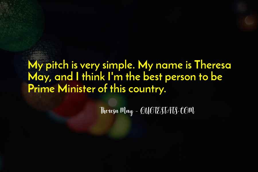 Theresa May Quotes #996522