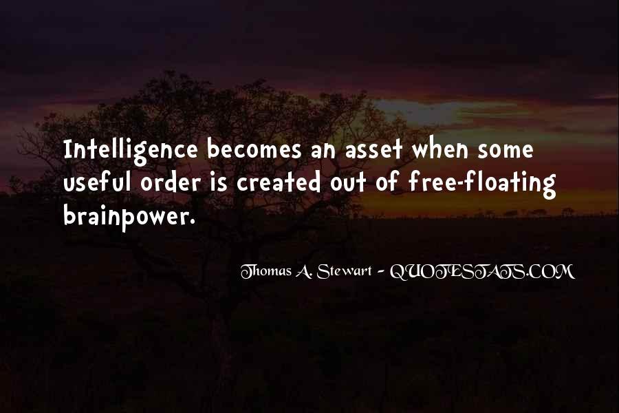 Thomas A. Stewart Quotes #1652358
