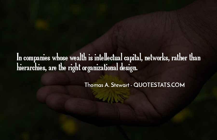 Thomas A. Stewart Quotes #231804