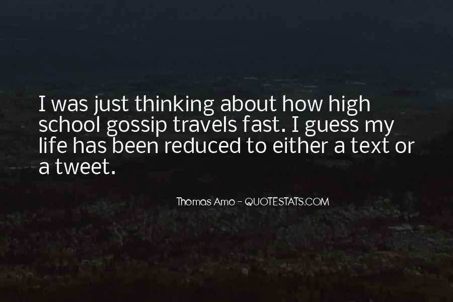 Thomas Amo Quotes #514350