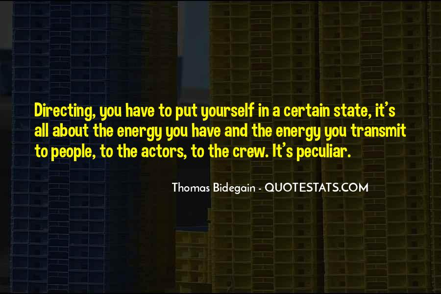 Thomas Bidegain Quotes #1560170