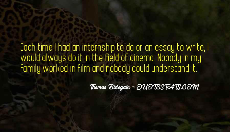 Thomas Bidegain Quotes #458792
