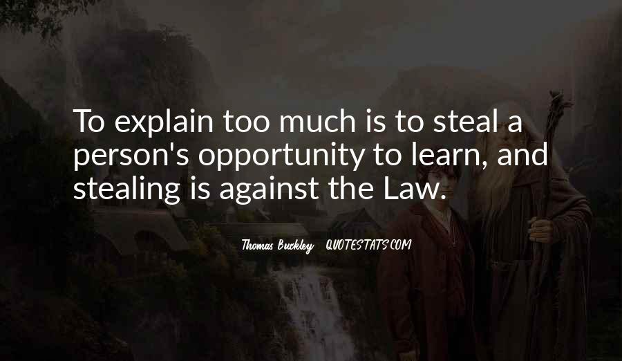 Thomas Buckley Quotes #341078