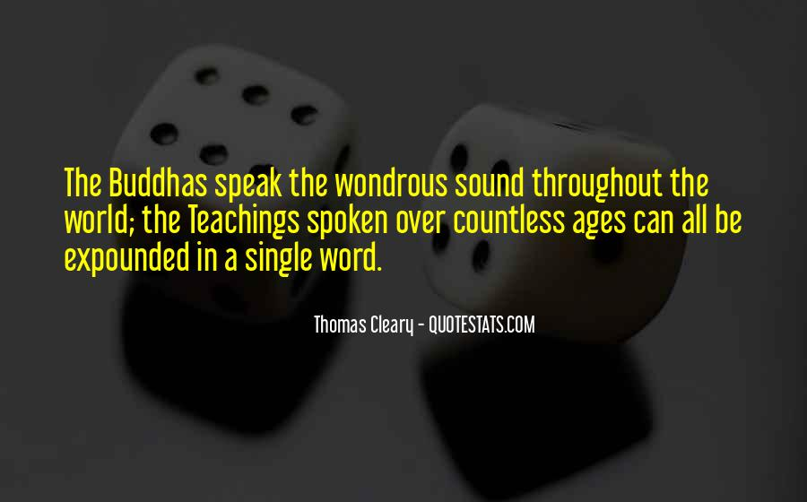 Thomas Cleary Quotes #294309