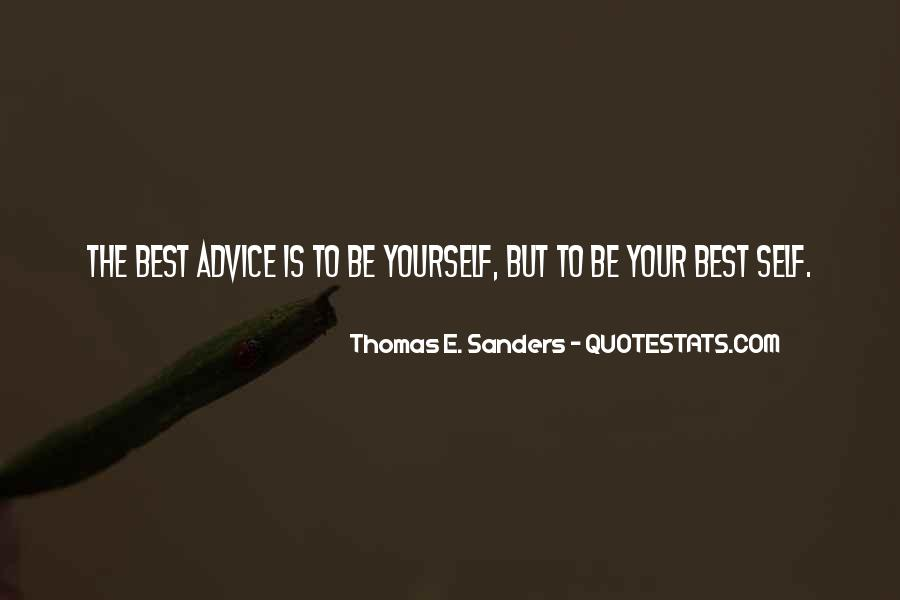 Thomas E. Sanders Quotes #1448391