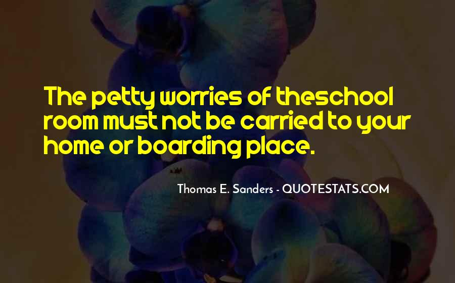 Thomas E. Sanders Quotes #872696