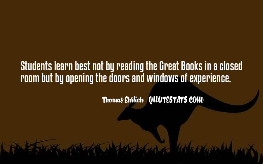 Thomas Ehrlich Quotes #240120