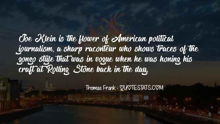 Thomas Frank Quotes #1397799