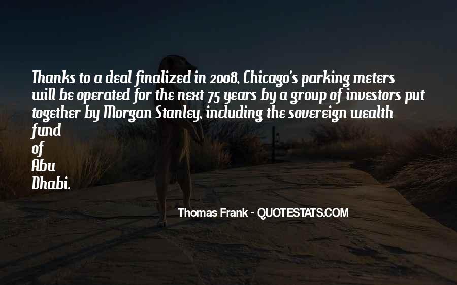 Thomas Frank Quotes #633457