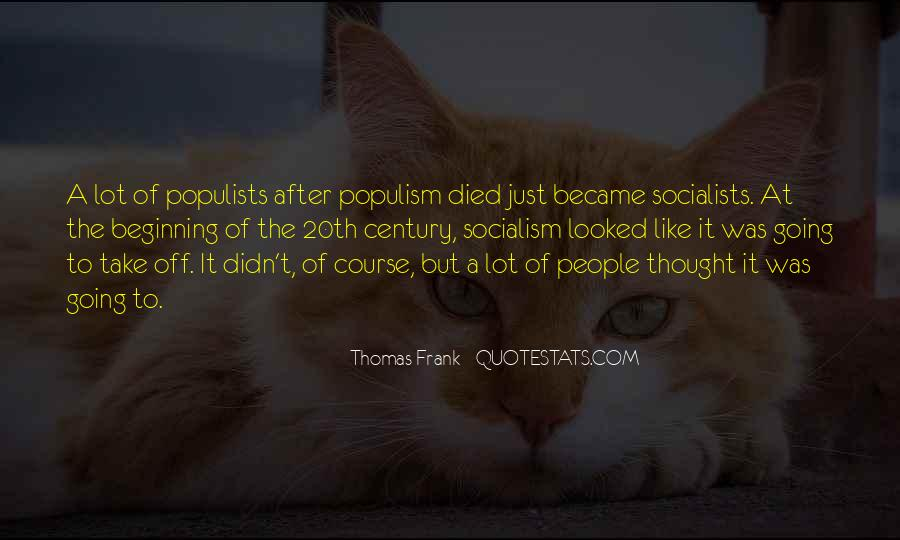 Thomas Frank Quotes #862582