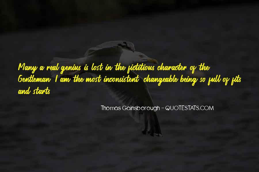 Thomas Gainsborough Quotes #789359