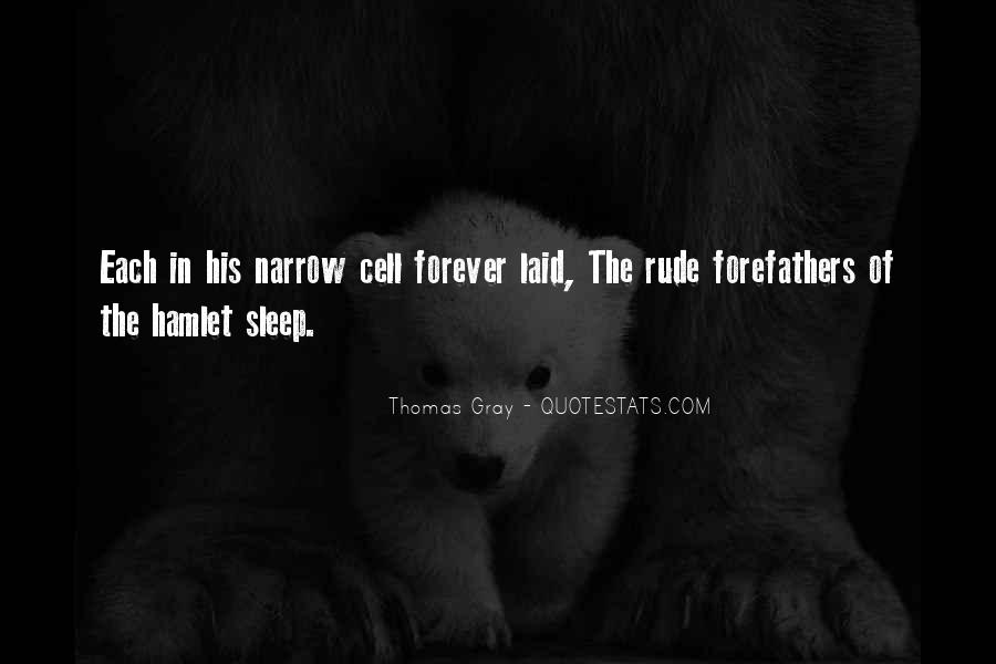Thomas Gray Quotes #1137138