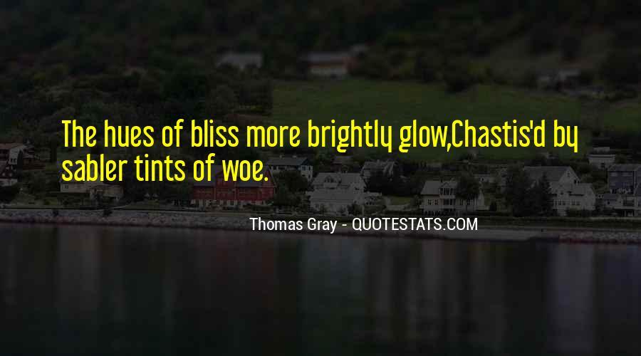Thomas Gray Quotes #1156827