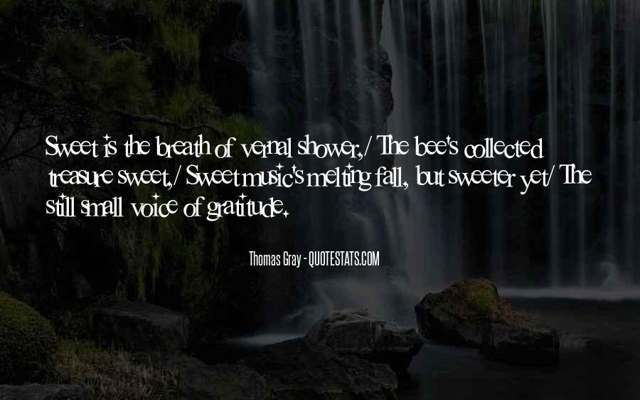 Thomas Gray Quotes #1164820