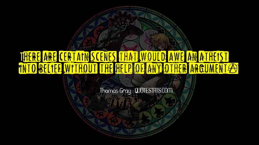 Thomas Gray Quotes #1307841