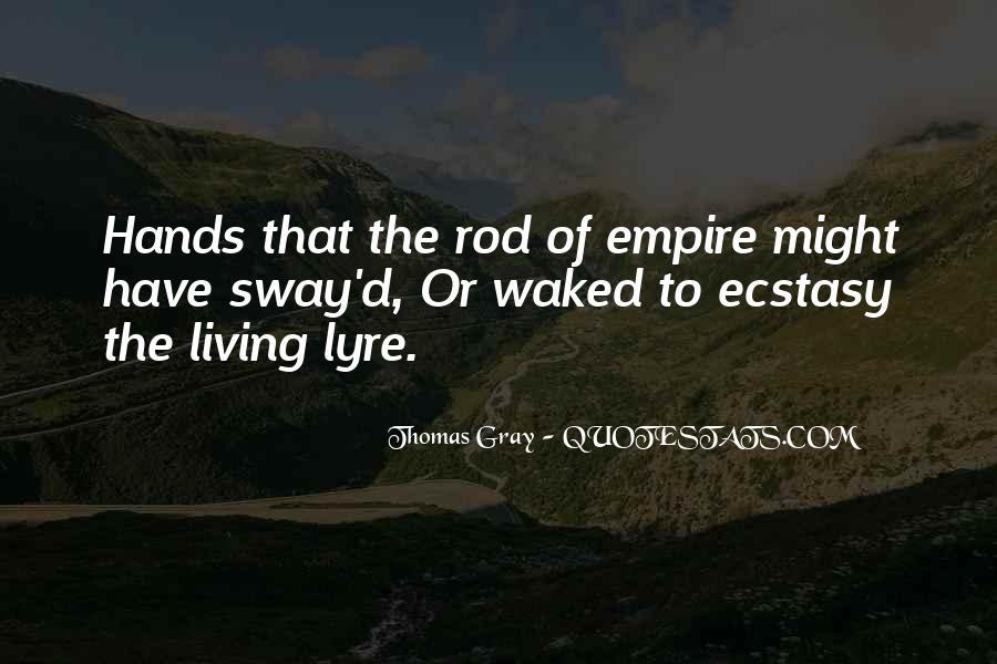 Thomas Gray Quotes #1396444