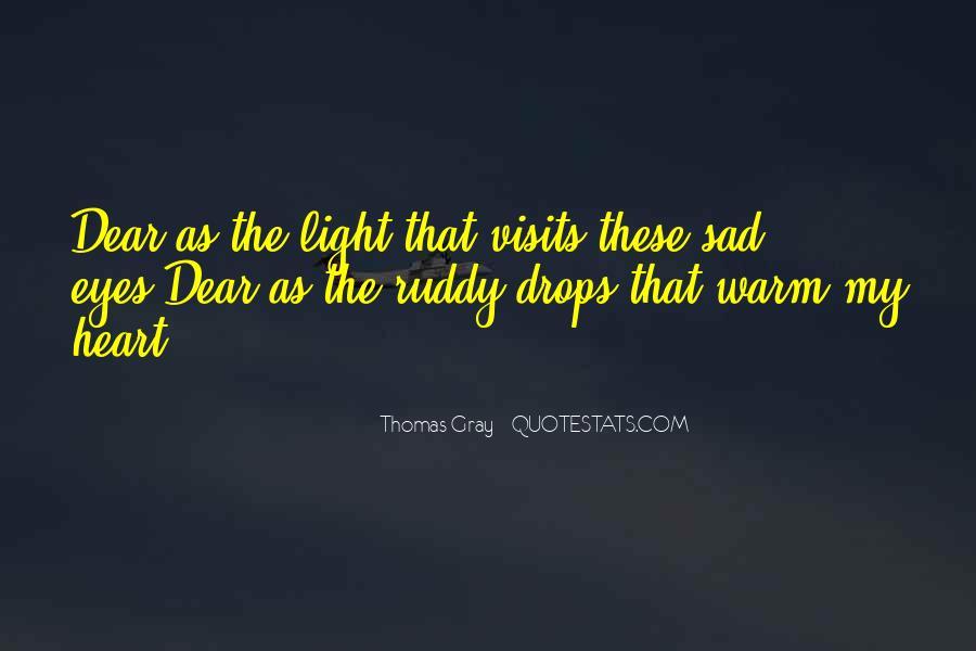 Thomas Gray Quotes #1414039