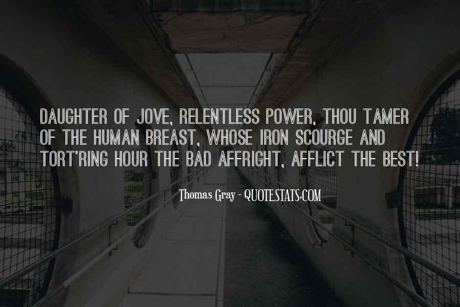 Thomas Gray Quotes #1424782