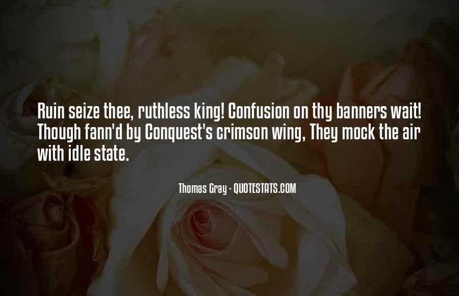 Thomas Gray Quotes #1613570
