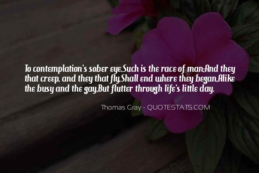 Thomas Gray Quotes #1744340
