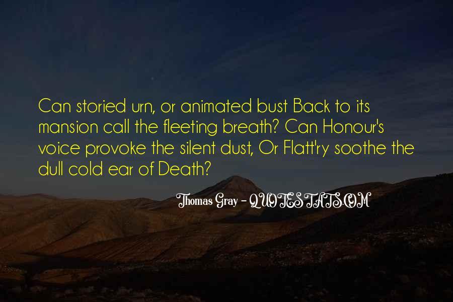 Thomas Gray Quotes #1765231