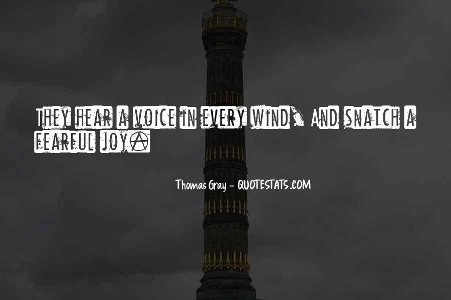Thomas Gray Quotes #182566